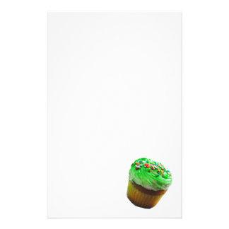 Cupcake Photograph Stationary Stationery