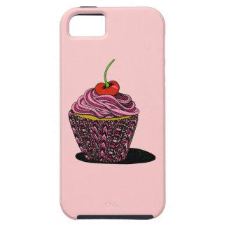 Cupcake - Pink iPhone 5 Case