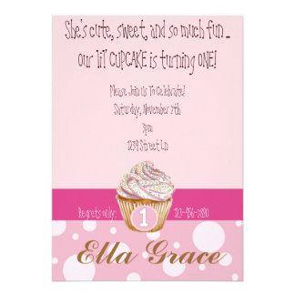Cupcake Polka Dots Announcement