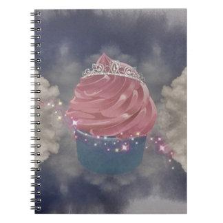 Cupcake Princess Ringband Notitie Boek
