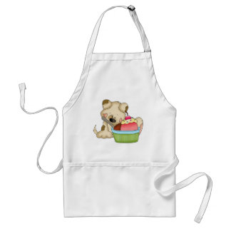Cupcake Puppy Sweet Treat apron