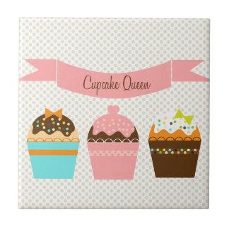Cupcake Queen Tile