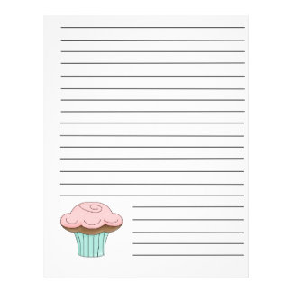 Cupcake Recipe Binder Pages 21.5 Cm X 28 Cm Flyer
