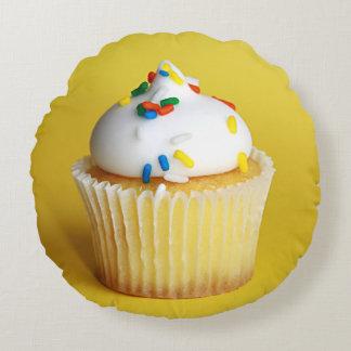 Cupcake Round Pillow