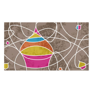 CUPCAKE shapes Pack Of Standard Business Cards