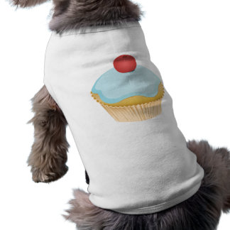 Cupcake Sleeveless Dog Shirt