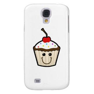 Cupcake Smile Face Samsung Galaxy S4 Case