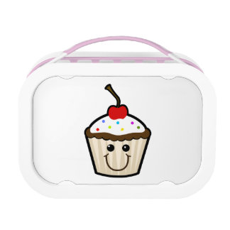 Cupcake Smile Face Yubo Lunchbox