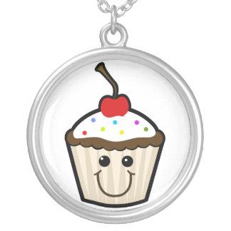 Cupcake Smile Face Pendant