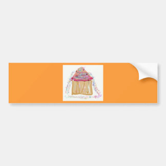 Cupcake Sprinkles Bumper Stickers