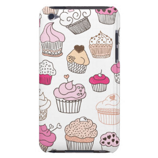 Cupcake sweet candy cake pattern iPod Case-Mate case
