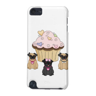 Cupcake Sweet Pug Dogs iPod Touch 5G Covers