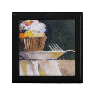 Cupcake Sweet Treat Pastry Dessert Small Square Gift Box