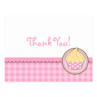 Cupcake Thank You Card Postcard