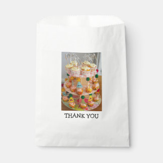 Cupcake Thank You Favour Bags