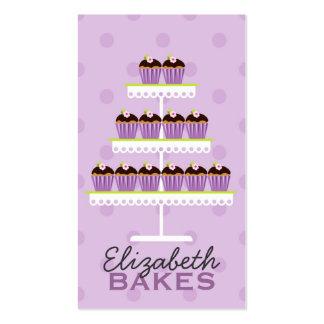 Cupcake Tier Business Card