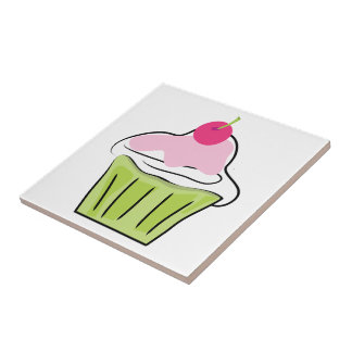 Cupcake Tile