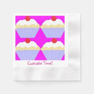 Cupcake Time! Disposable Serviette