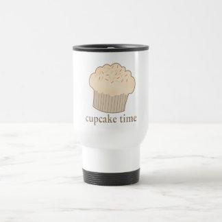 Cupcake Time Stainless Steel Travel Mug