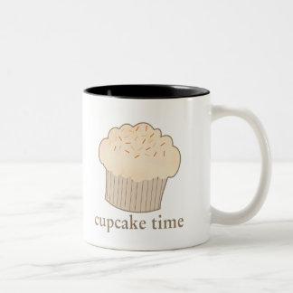 Cupcake Time Two-Tone Coffee Mug