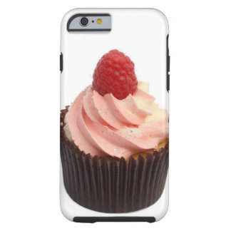 Cupcake topped with raspberry cream and a fresh tough iPhone 6 case