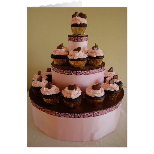 Cupcake Tower Card