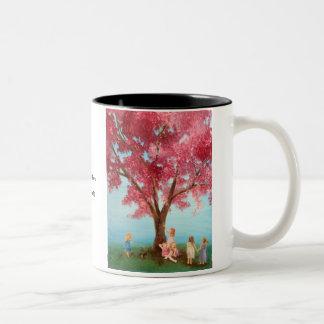 """""""cupcake tree"""" coffee mug"""