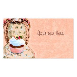Cupcake Victorian Business Card