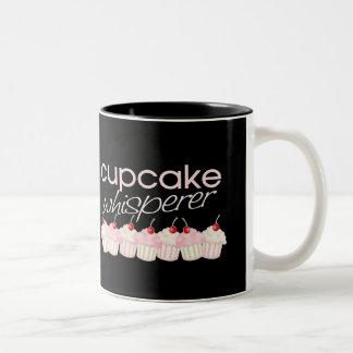 Cupcake Whisperer Two-Tone Coffee Mug
