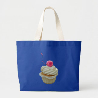 cupcake with cherry bag