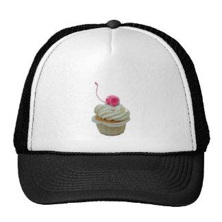 Cupcake with cherry cap