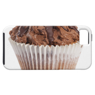 Cupcake with chocolate icing iPhone 5 covers