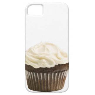 Cupcake with chocolate icing, studio shot 2 iPhone 5 covers