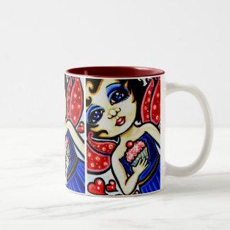 Cupcake YUM! Cute Fantasy Fairy Mug