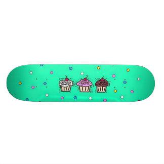 cupcakes 20.6 cm skateboard deck