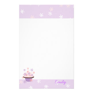 Cupcakes and Stars Stationery Paper