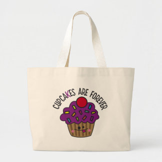 Cupcakes Are Forever Canvas Bags