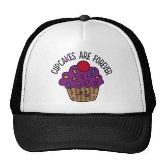 Cupcakes Are Forever Hats