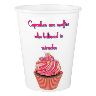 Cupcakes Are Paper Cup, 9 oz