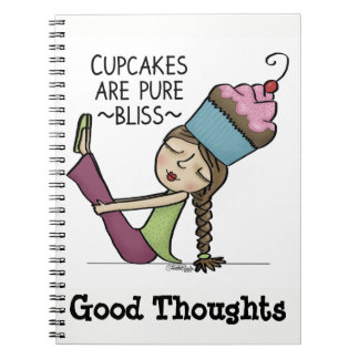 Cupcakes are Pure Bliss Notebook