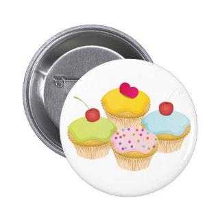 Cupcakes 6 Cm Round Badge
