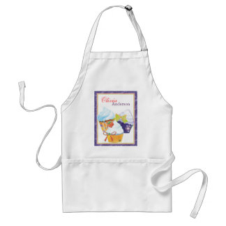 Cupcakes Bakery Chef Personalized Name Standard Apron