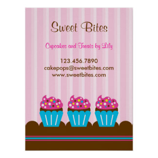 Cupcakes Bakery Poster