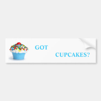 Cupcakes Bumper Sticker