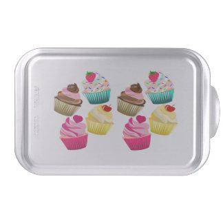 cupcakes, cake tin