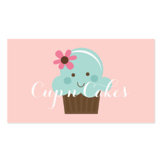 Cupcakes, Cakes, Food, Catering, Bakery Business Business Cards