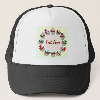 Cupcakes Colorful Circle Hat