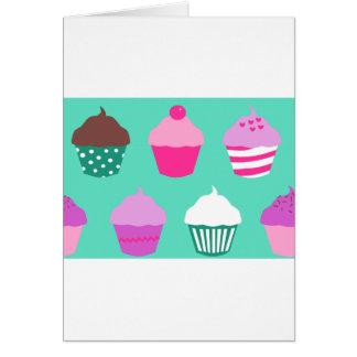 Cupcakes design card