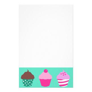 Cupcakes design stationery