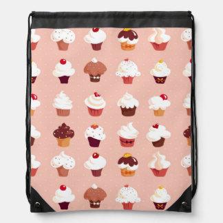 Cupcakes Drawstring Backpack